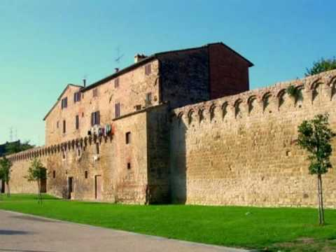 A Day In Buonconvento (SI) Italy