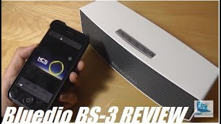 REVIEW: Bluedio BS-3 Stereo Bluetooth Speaker!