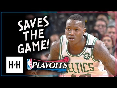 Terry Rozier Full Game 1 Highlights Celtics vs Bucks 2018 Playoffs - 23 Pts, CLUTCH!