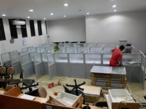 Produksi Meja Sekat Kantor - Cubicle Workstation