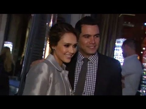 Jessica Alba And Cash Warren's Date Night Ahead Of The Holidays With Their Girls