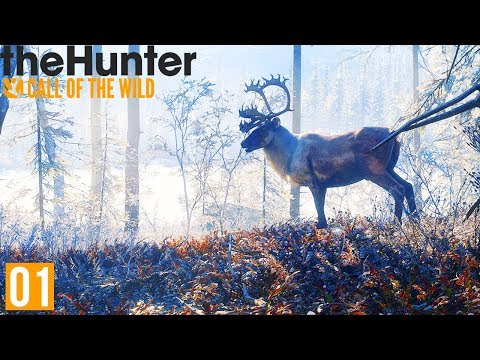 HUNTING IN THE BEAUTIFUL TUNDRA | theHunter : Call Of The Wild (Medved-Taiga DLC Part 1)
