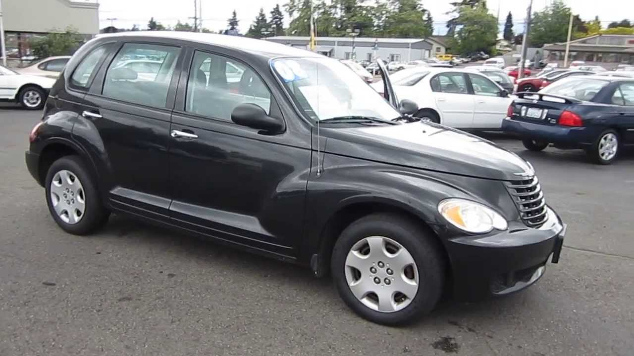 2008 Chrysler Pt Cruiser  Black - Stock  11038