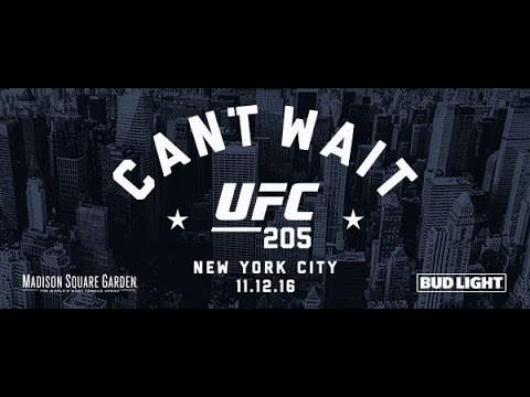 UFC 205 Tickets on Sale Press Conference