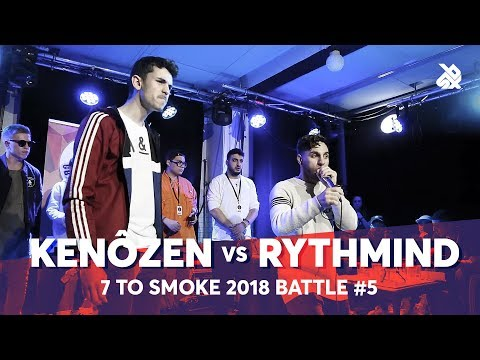 KENÔZEN vs RYTHMIND  Grand Beatbox 7 TO SMOKE Battle 2018  Battle 5
