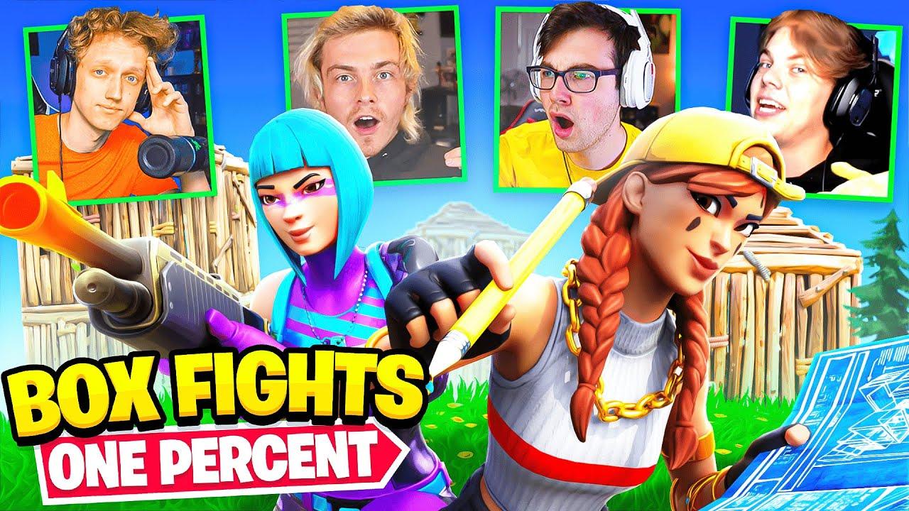One Percent Fortnite Box Fights Tournament!