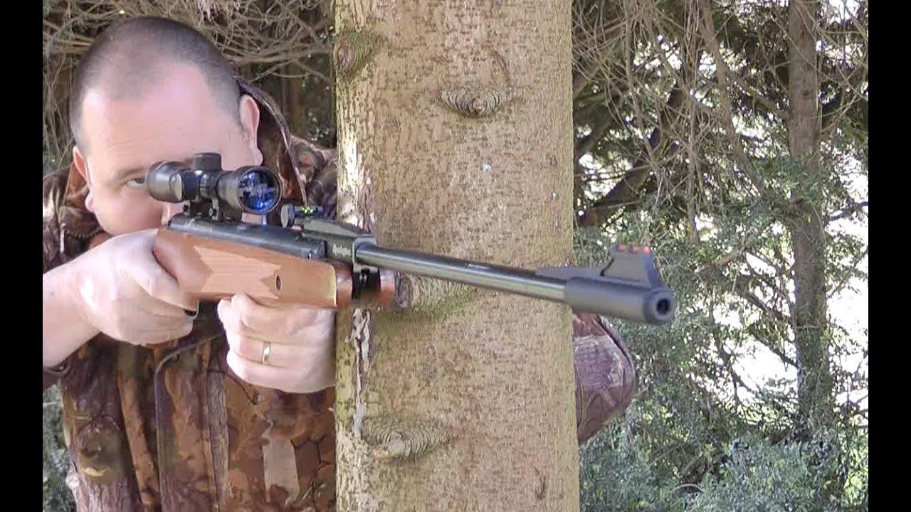 Review remington express air gun spring powered air rifle youtube