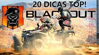 20 DICAS PRA MELHORAR E VENCER NO BLACKOUT! - BLACK OPS 4 BATTLE ROYALE
