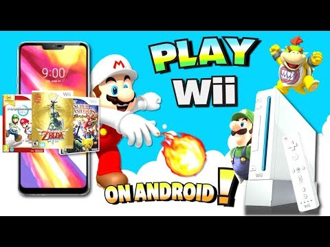 Play Wii GAMES On Android (Phone/Tablet) - NO ROOT 2018/2019