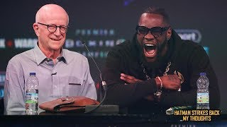 DEONTAY WILDER'S TEAM REFUSE NEGOTIATIONS WITH EDDIE HEARN FOR ANTHONY JOSHUA!!!