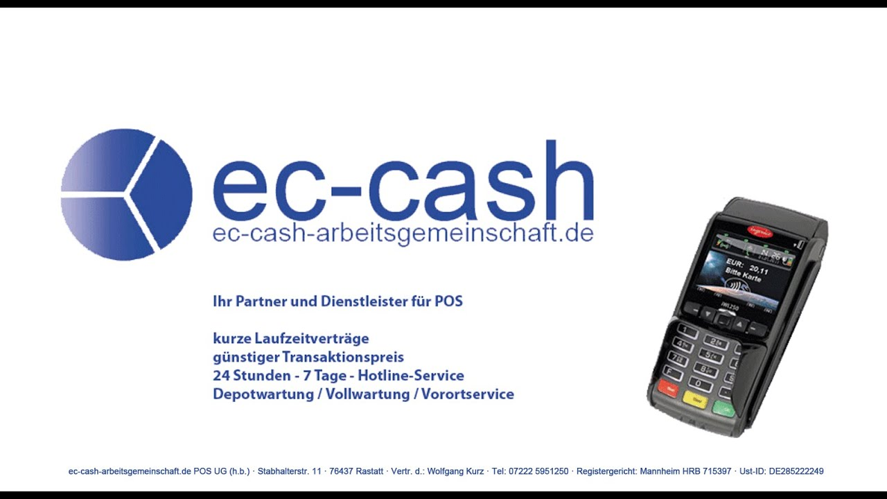Ec Cash Terminals