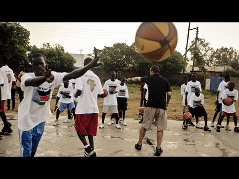 Luol Deng - hoops in the world's newest nation