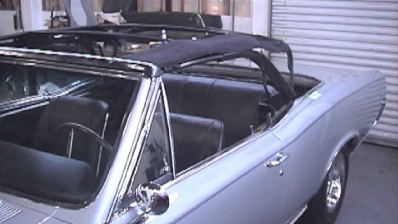 Convertible Top Repair - Pontiac GTO - Cooks Uphlostery ...