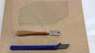Astuce pour couper du verre:  Découper du verre - Astuce Bricolage facile