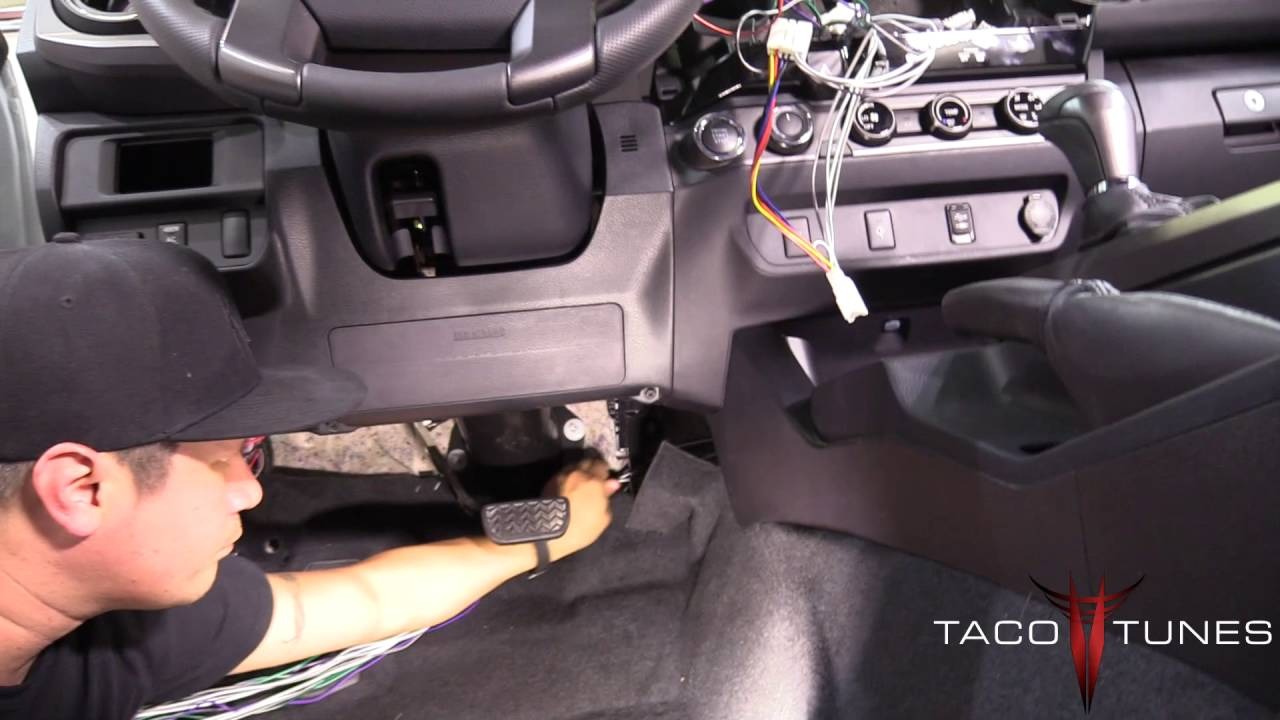 medium resolution of toyota tacoma how to install plug and play wiring system to add amplifier to your stock stereo youtube