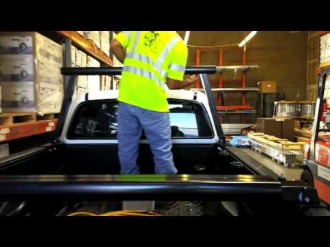 airo collapsible truck rack