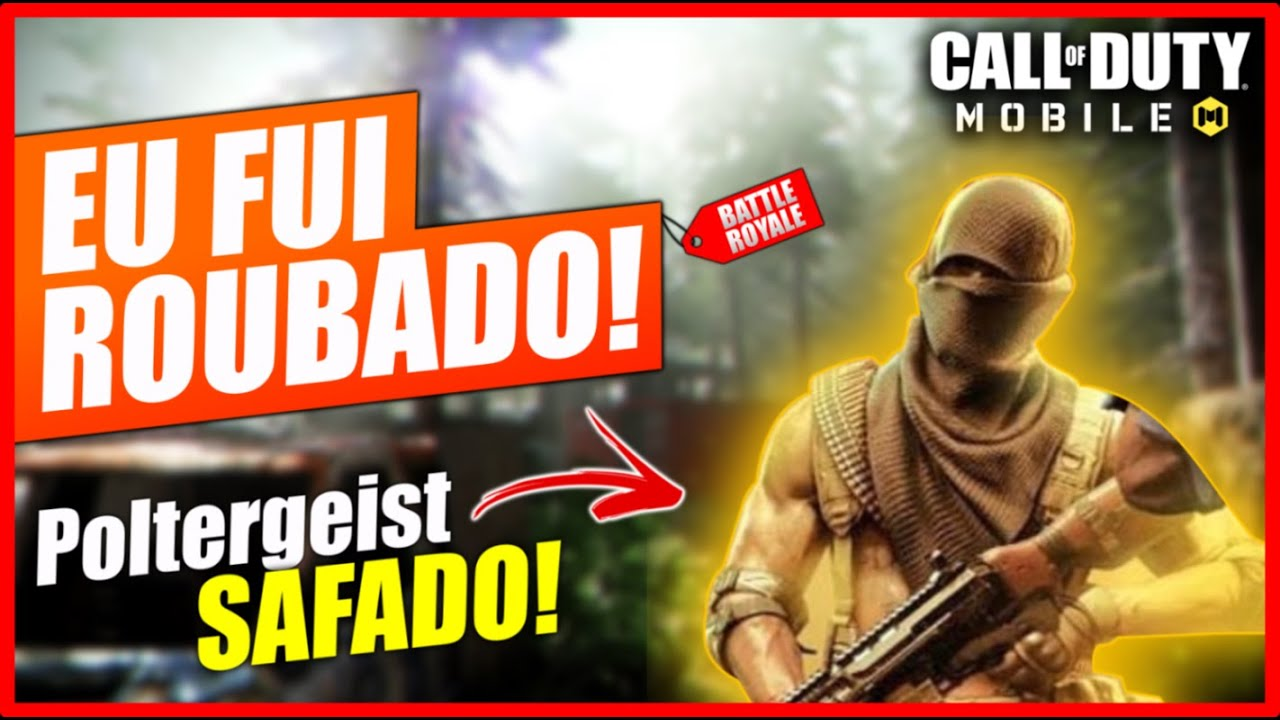 O MAIOR LADRÃO do Call of Duty Mobile - Gameplay Battleroyale COD Mobile - Season 10