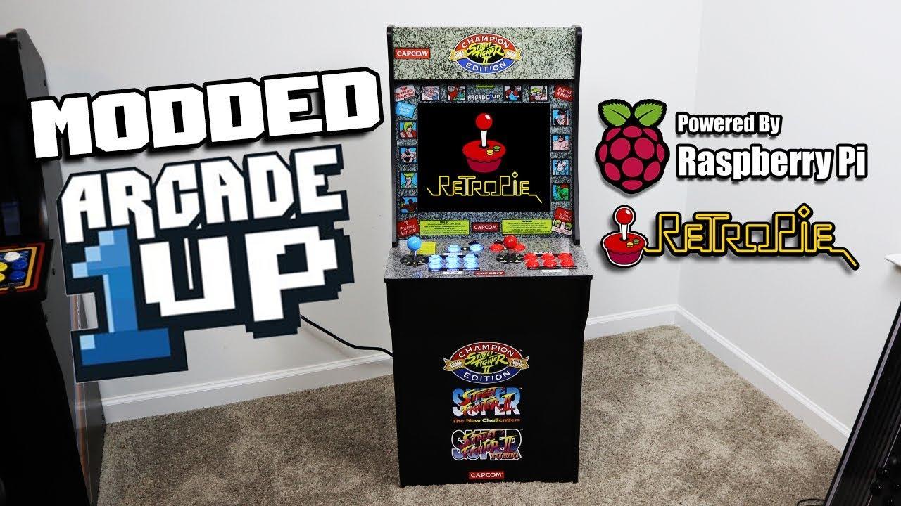 Arcade1Up Cab Running RetroPie - Raspberry Pi Mod - Arcade Punks