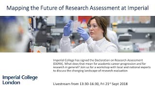 Mapping the Future of Reasearch Assessment at Imperial College London