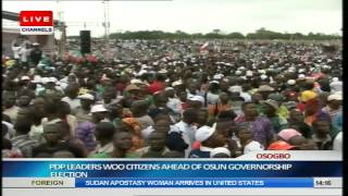 Jonathan, PDP Leaders Woo Osun Citizens Ahead Of Guber Election Pt.4