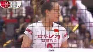 Волейбол. Россия - Китай. Кубок мира 2015. Russia - China FIVB 2015