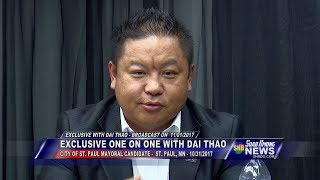 SUAB HMONG NEWS: Exclusive One On One with DAI THAO,  St. Paul Mayoral Candidate