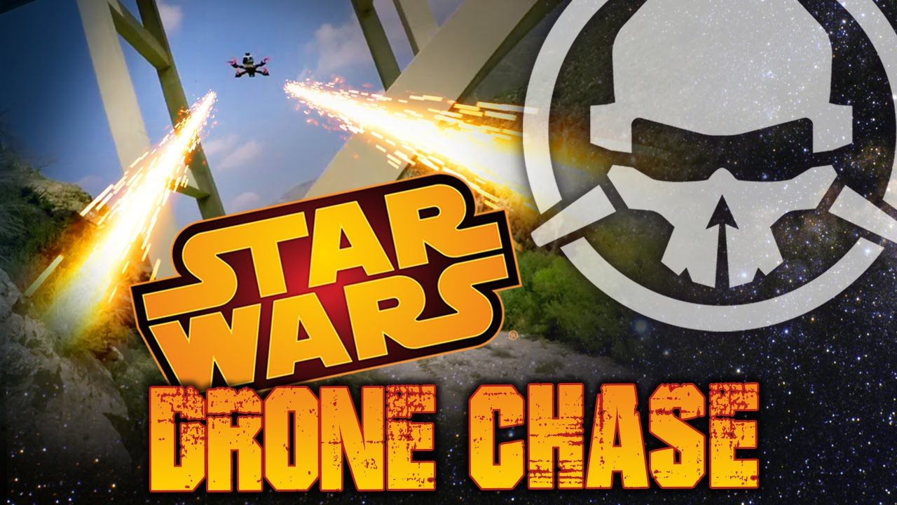 Star Wars Drone Chase
