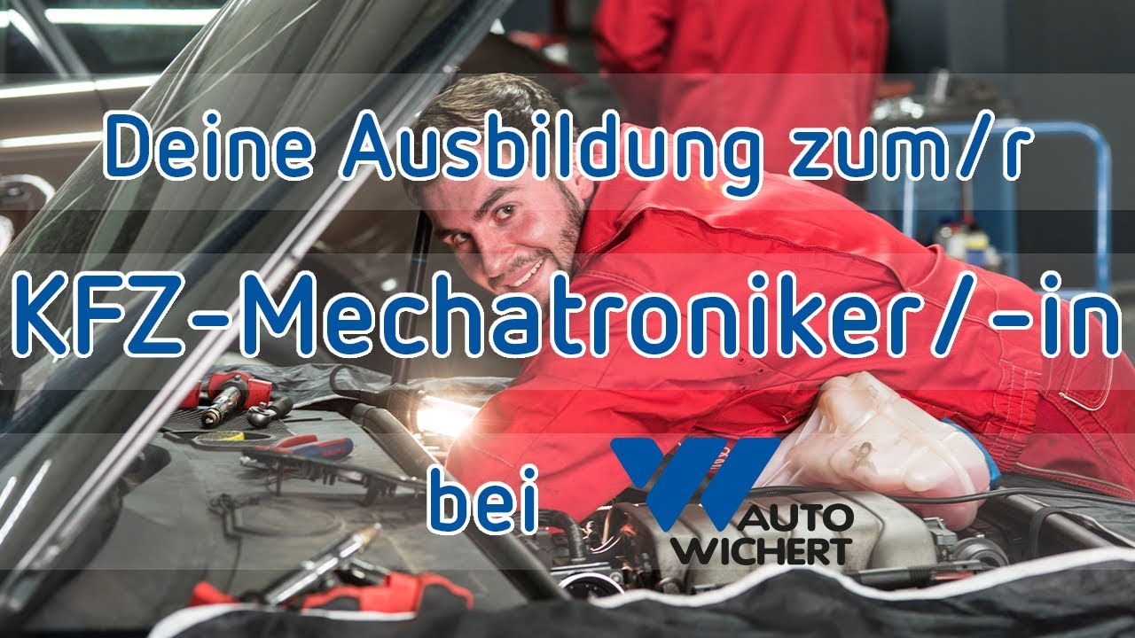 auto wichert ausbildung kfz mechatroniker in youtube. Black Bedroom Furniture Sets. Home Design Ideas