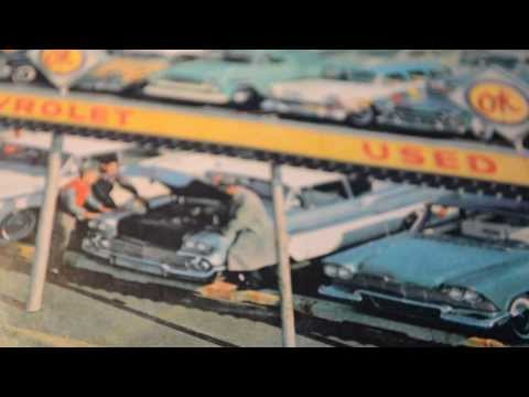 1950'S AMERICAN USED CARS - OK CHEVY DEALER AD