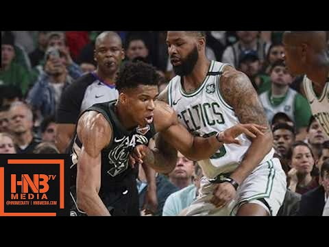Boston Celtics vs Milwaukee Bucks Full Game Highlights / Game 2 / 2018 NBA Playoffs