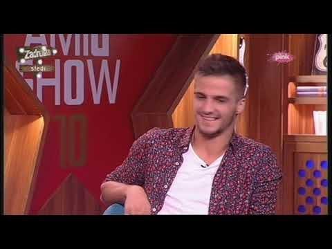 Tuš karaoke challenge - Emir Aličković (Ami G Show S10)