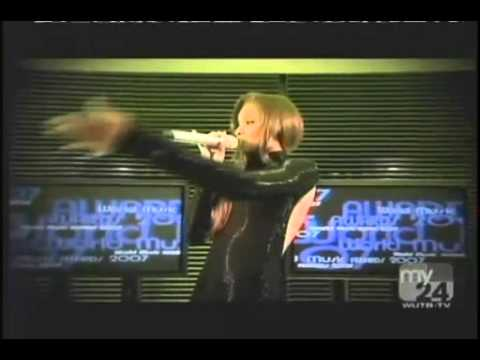 Ciara Feat. 50 Cent - Can't Leave Em Alone (Live at World Music Awards 2007)