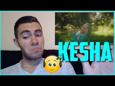 """KESHA """"LEARN TO LET GO"""" REACTION! (Catchy as Always!)"""