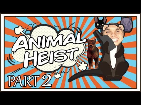 Animal Heist | Part 2 Dogs Trying To Eat Me