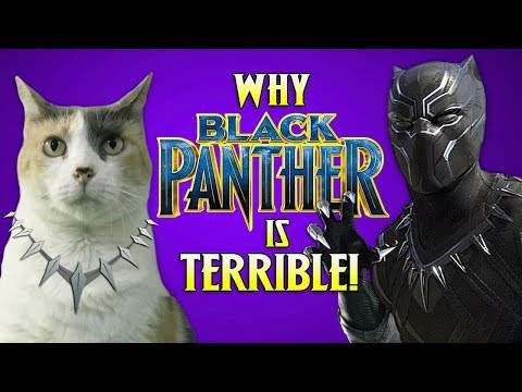Why Black Panther Is TERRIBLE : CreationistCat Reviews!