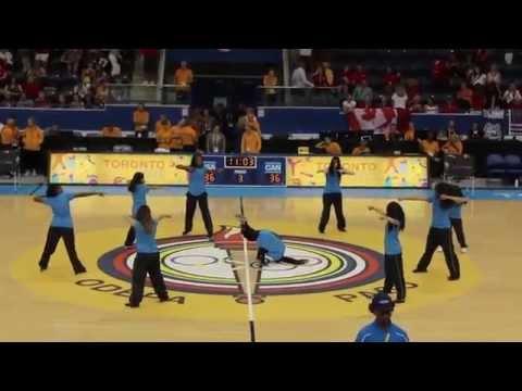 CANADA VS USA Basketball FINAL - Pan Am Games 2015 - HIP HOP Performances