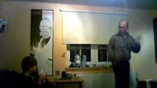 Glle Gerd beim ab dancen