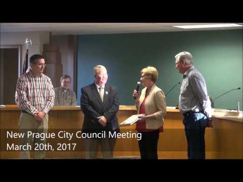 New Prague City Council March 20th, 2017