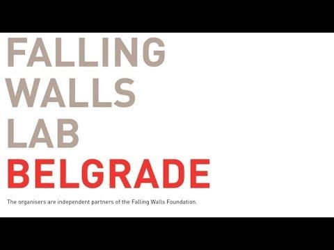 Bojan Petrovic - short promotional interview - The Falling Walls Lab Belgrade 2018