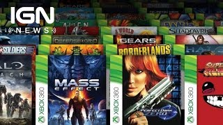 First 100 Backwards-Compatible Xbox One Games to be Announced Next Week - IGN News