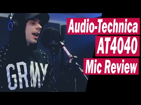 Audio-Technica AT4040 XLR Condenser Microphone Test/Review (Rap & Singing) | 2019