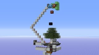 Simplest Working Automatic Tree Farm (2,500 logs/h) 1.12/1.13