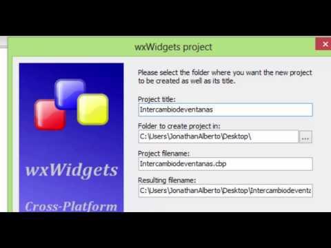 Tutorial C++ con Wxwidgets y CodeBlocks Intercambio de Ventanas