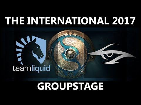 Team Liquid vs Team Secret GAME 2, The International 2017, Secret vs Liquid
