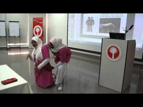 AURAK Hold first aid course