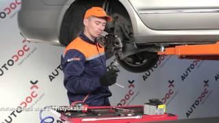 Kuinka korvata Termostaatti jäähdytysneste VW POLO CLASSIC (6KV2) - opetusvideo