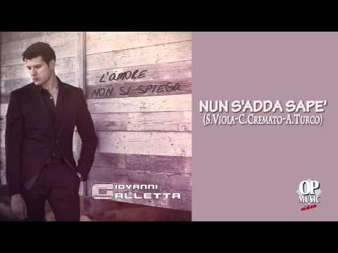 Giovanni Galletta - Nun s'adda sapè