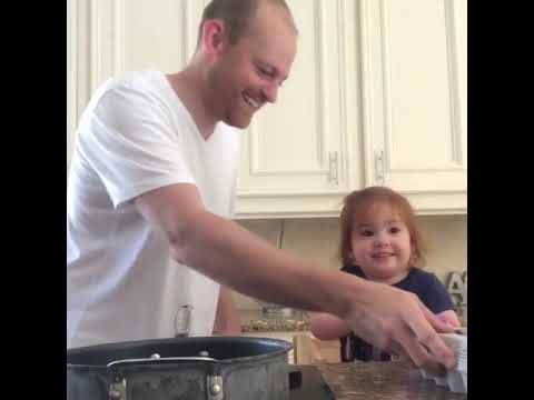 JT - Helping Dad with Breakfast