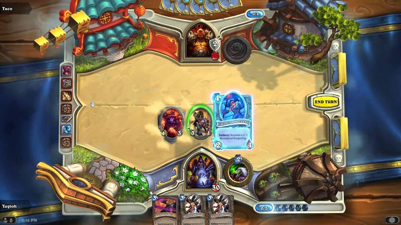 Warlock Beginner Deck for Hearthstone - No common, rare, elite or legendary cards