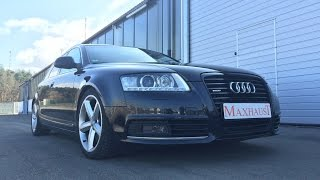 Audi A6 4F 3.0TDI and Maxhaust Soundbooster Active Sound